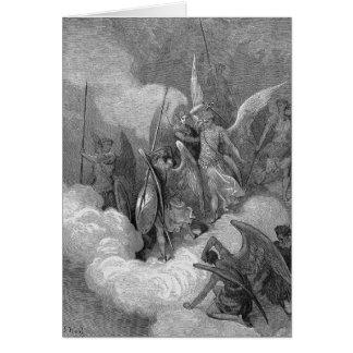 Abdiel attaque Satan Cartes