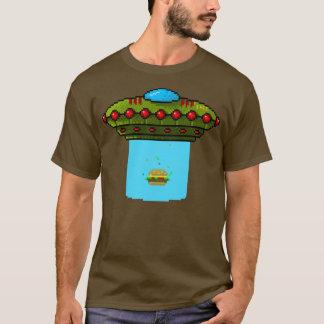 Abduction de cheeseburger t-shirt