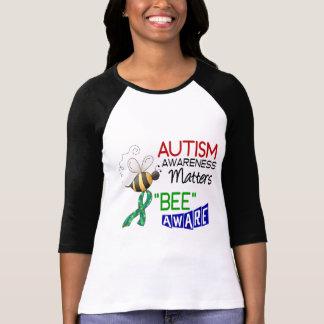 ABEILLE 1 AVERTI d'autisme T-shirt