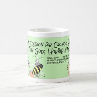 Abeille de coucou et la fourmi folle mug
