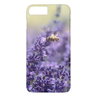 Abeille de lavande et de miel coque iPhone 8 plus/7 plus