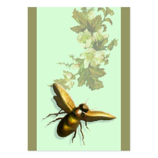 Abeille de miel modèle de carte de visite
