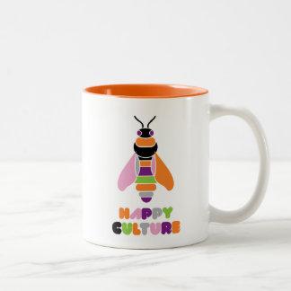 Abeille de miel de Happyculture Mug Bicolore