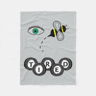 Abeille d'oeil fatiguée