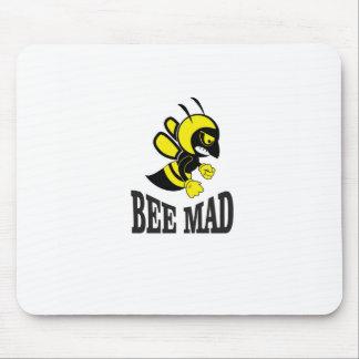 abeille folle d'abeille tapis de souris