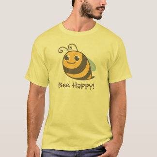 Abeille heureuse ! Gaffez l'abeille T-shirt