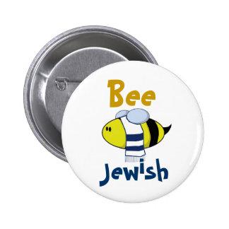 """""""Abeille juive """" Badge Rond 5 Cm"""