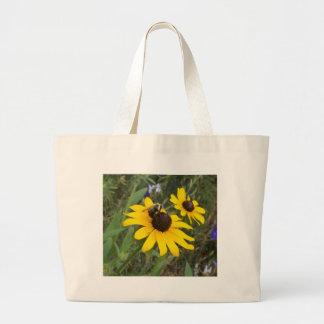 abeille sur la fleur sacs