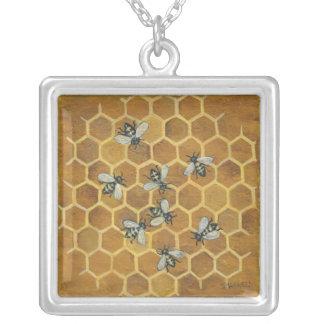abeilles de miel collier