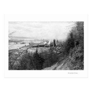 Aberdeen, moulin et port Photograp de vue de ville Carte Postale
