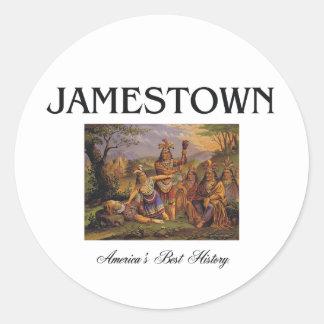 ABH Jamestown Sticker Rond