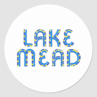 ABH le Lake Mead Sticker Rond