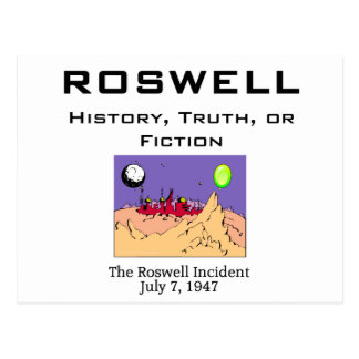 ABH Roswell Carte Postale