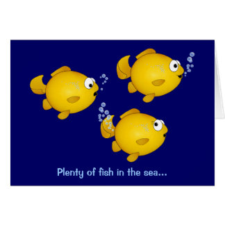 Abondance des poissons en mer, abondance des carte de vœux