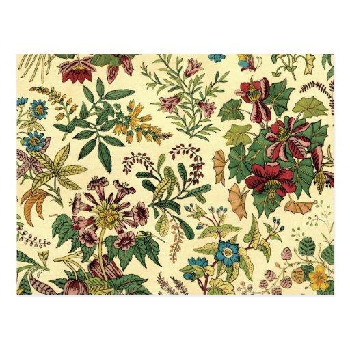 Abondance florale démodée cartes postales