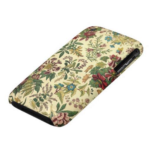 Abondance florale démodée étuis iPhone 3