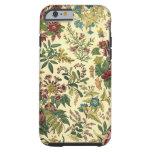 Abondance florale démodée coque iPhone 6 tough
