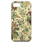 Abondance florale démodée étui iPhone 5
