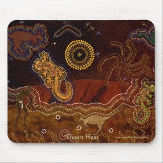Aborigènes australiens chassant le kangourou et le tapis de souris