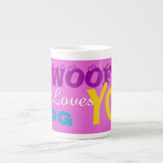 """""""ABOYEZ les amours de ce chien vous"""" des tasses de"""