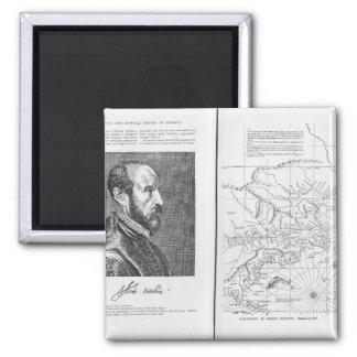 Abraham Ortel Oretelius Magnet Carré
