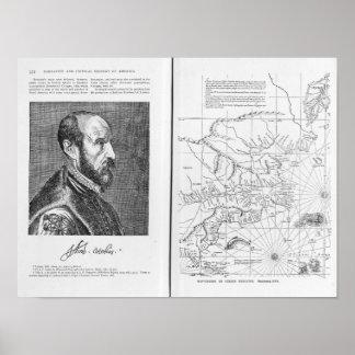 Abraham Ortel Oretelius Poster