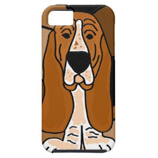 Abrégé sur adorable art de chien de Basset Hound Coques iPhone 5