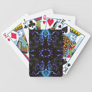 Abrégé sur au néon artistique moderne bigorneau de jeu de cartes