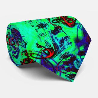 Abrégé sur au néon vert cravate