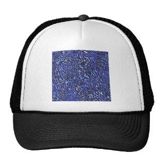 Abrégé sur bleu en verre casquette