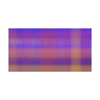 Abrégé sur coloré rayures de plaid toile