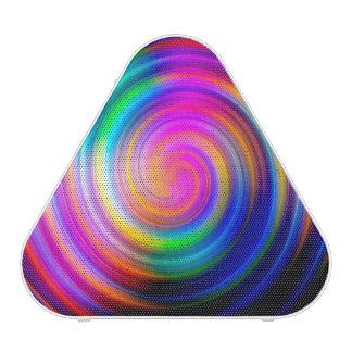 Abrégé sur coloré remous d arc-en-ciel haut-parleur bluetooth