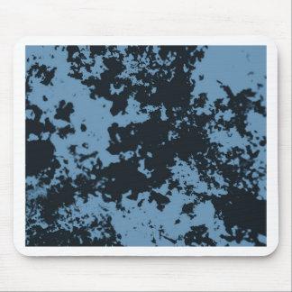 Abrégé sur Duotone de noir bleu Tapis De Souris