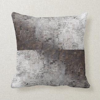 Abrégé sur gris et espace de Brown Oreillers