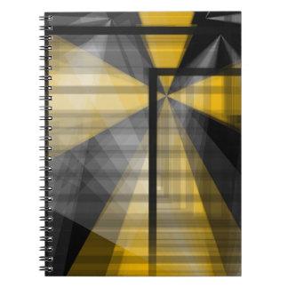 Abrégé sur jaune noir carnets
