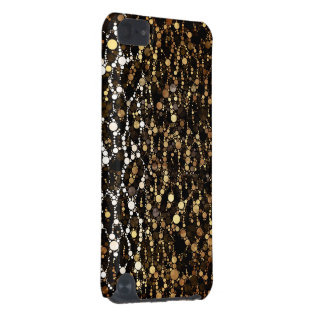Abrégé sur noir guépard de Brown Coque iPod Touch 5G