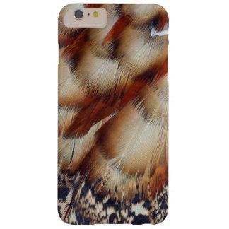 Abrégé sur plume de Brown Tragopan Coque Barely There iPhone 6 Plus