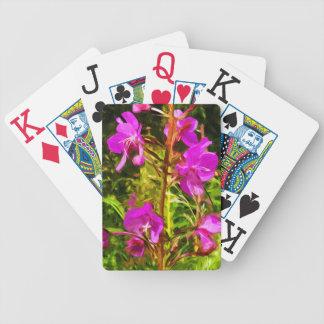Abrégé sur pourpre fleur sauvage de l'Alaska de Jeux De Cartes
