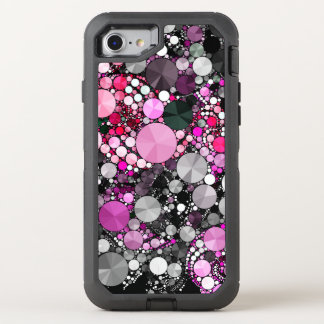 Abrégé sur rose Girly Bling Coque OtterBox Defender iPhone 8/7