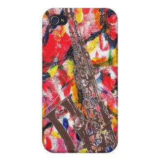 Abrégé sur saxophone de jazz coques iPhone 4/4S