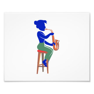 abrégé sur se reposant femelle blue.png joueur de  impression photographique