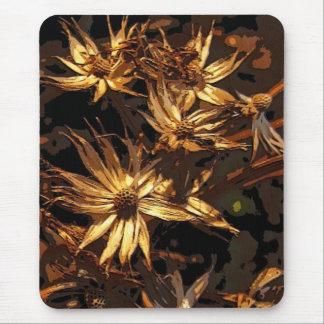 Abrégé sur sec fleur tapis de souris