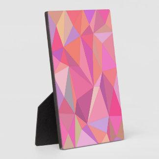 Abrégé sur triangle photos sur plaques