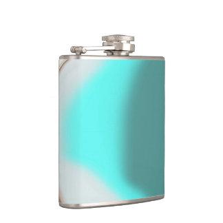 Abrégé sur turquoise flasques
