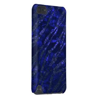 Abrégé sur zèbre de noir bleu coque iPod touch 5G