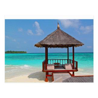 Abri tropical cartes postales