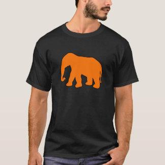 Abruti en ivoire de défenses de silhouette t-shirt