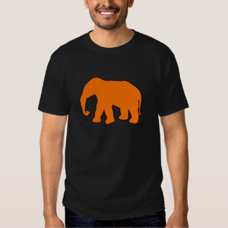 Abruti en ivoire de défenses de silhouette t-shirts