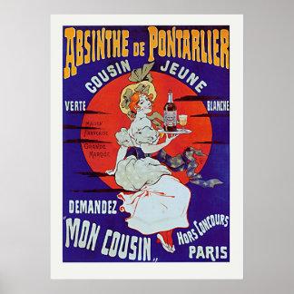 Absinthe de Pontarlier Posters