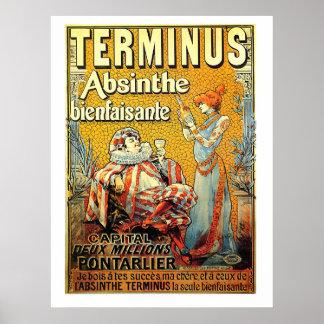 Absinthe de terminus posters
